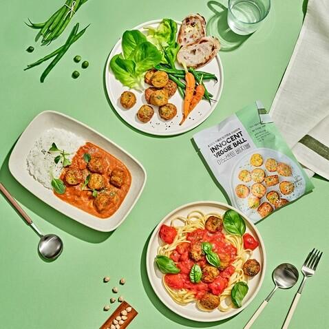 [지아 15차] 가볍고 맛있는 채식, 이노센트로 시작하기