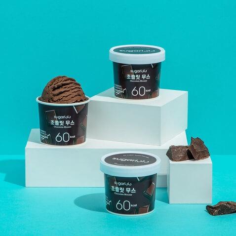 슈가로로 아이스크림 초콜릿무스 *12개입
