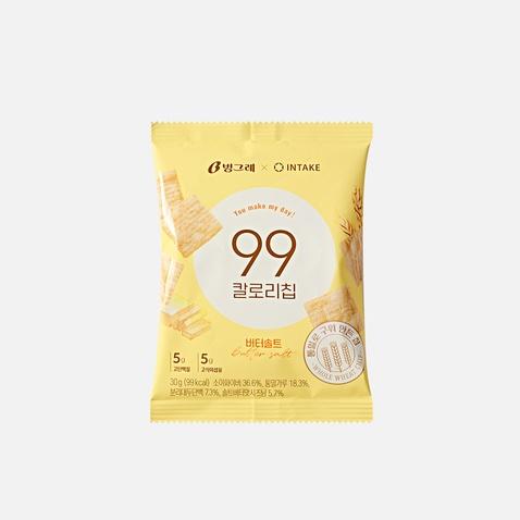 [빙그레X인테이크] 99칼로리칩 버터솔트 *1봉