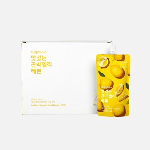 슈가로로 곤약젤리 레몬 *10팩