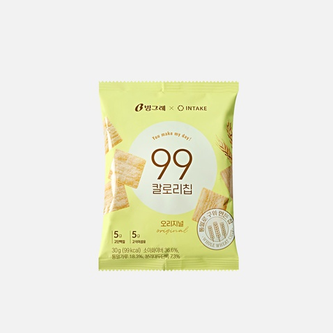 [빙그레X인테이크] 99칼로리칩 오리지널 *1봉