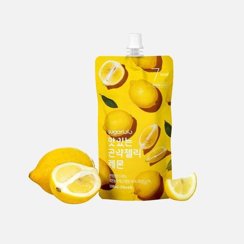 [BEST] 슈가로로 곤약젤리 레몬 *10팩